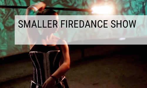 smaller fire dance show