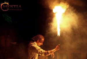 Hestia tűzzsonglőr fotó