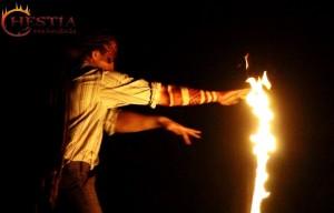 Hestia tűztánc Szücsi